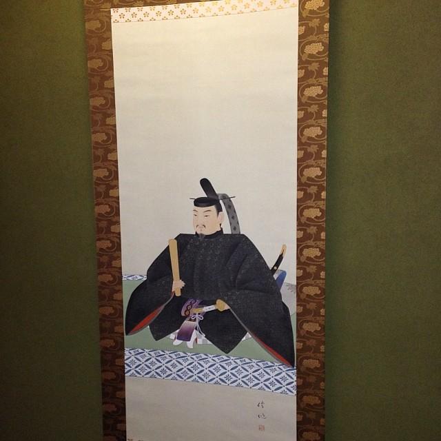 我が家の天神様は、叔父が描いてくれたものです(^ ^)挨拶が遅れましたが今年も宜しくお願いしますm(_ _)m