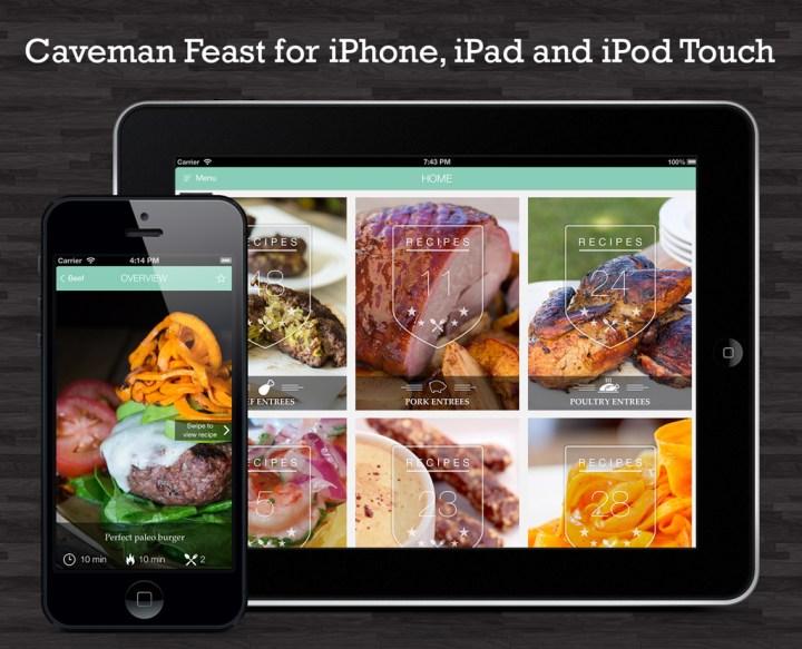 Caveman Feast App