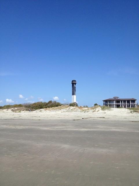 Lighthouse at Sullivan's Island, South Carolina