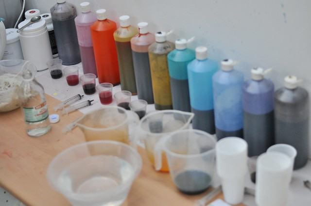 Dyeing supplies