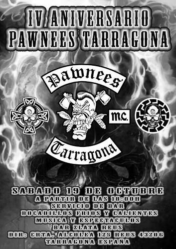 IV Aniv. Pawnees Tarragona