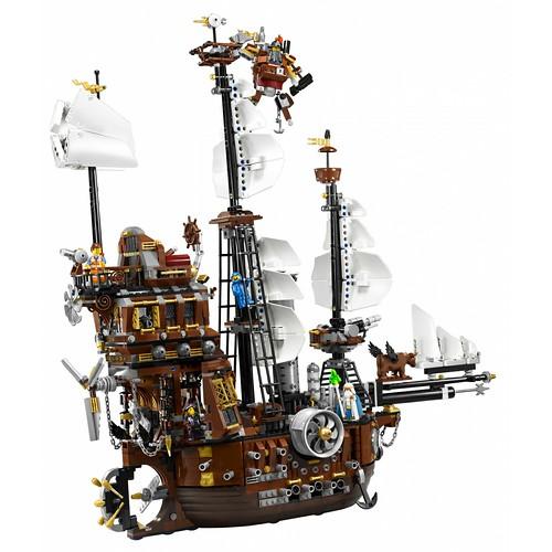 The LEGO Movie 70810 MetalBeard's Sea Cow set 4