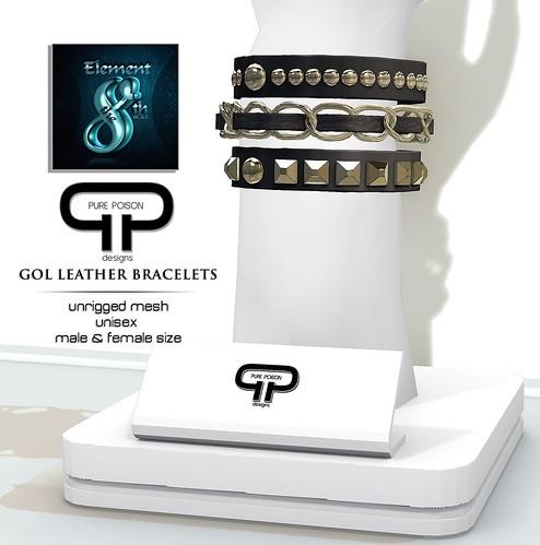 Pure Poison Unisex Bracelets - Gol Gift