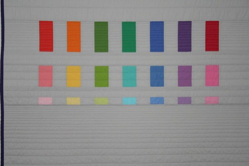 Spectrum Baby Quilt