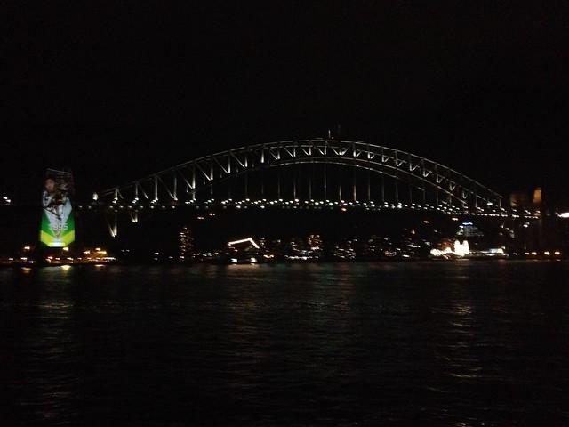 Sydney Harbour Bridge from Sydney Opera House