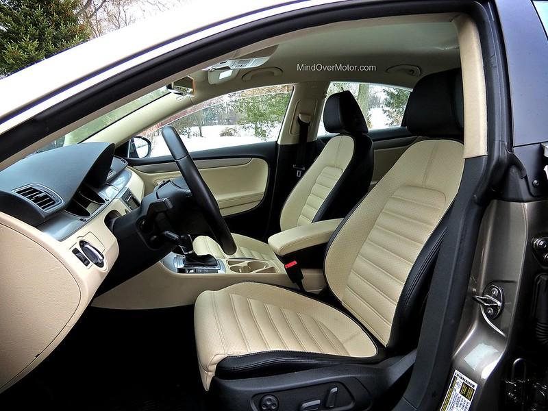 Volkswagen CC Two-tone interior