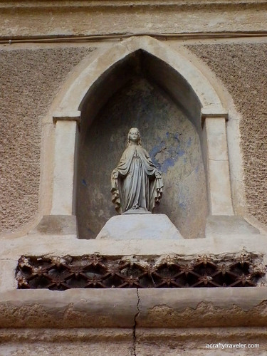 Sculpture in Tourbes, France