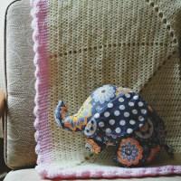 crochet | starburst baby blanket