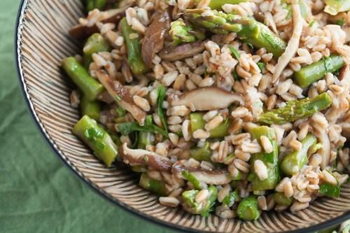 Spring Farro Salad