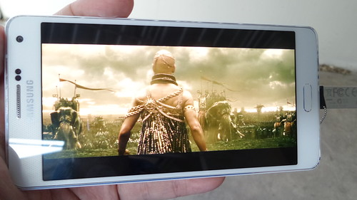 ดูคลิป 1080p บน Samsung Galaxy A7