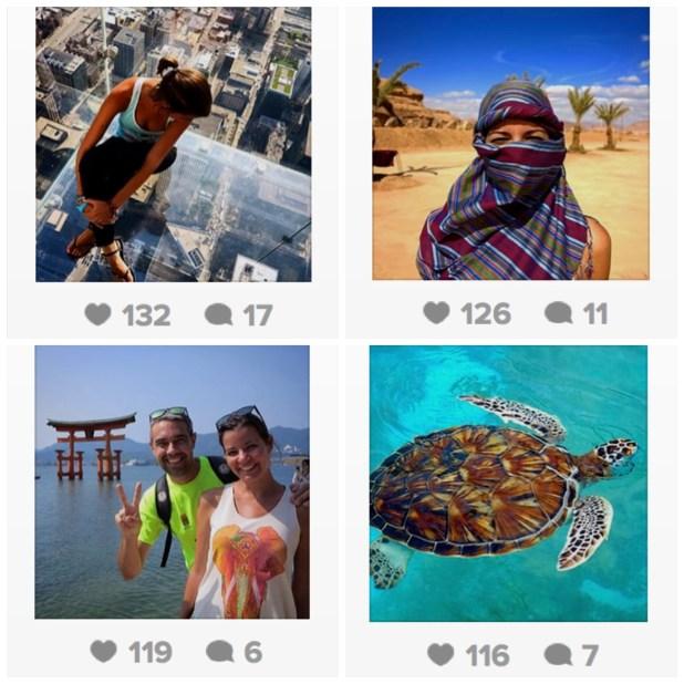 Vuelta al Mundo: fotos más populares en Instagram