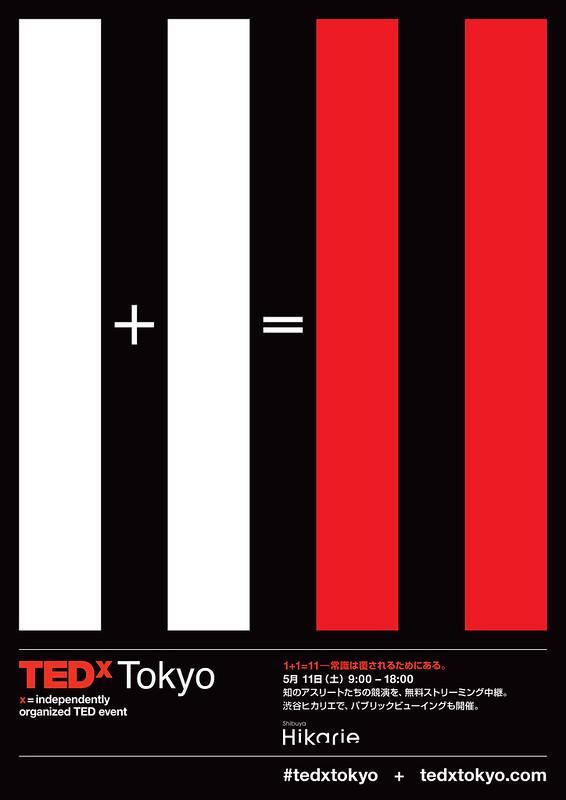 TEDxTokyo 2013 Poster