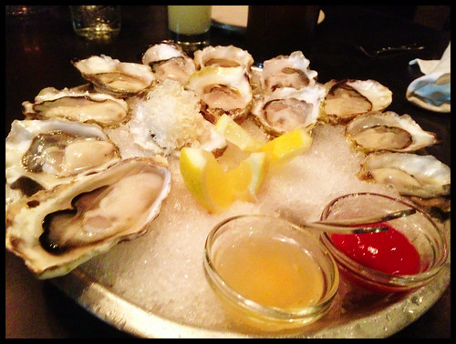 Today's Oysters on the Half Shell, Condiments