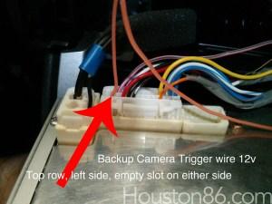 DIY Rear Backup Camera on Bumper (small)  Scion FRS