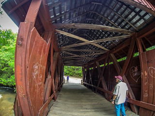 Houston at Campbell Covered Bridge