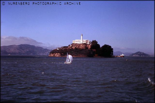 WmN#0113-00013 Alcatraz San Francisco 1985