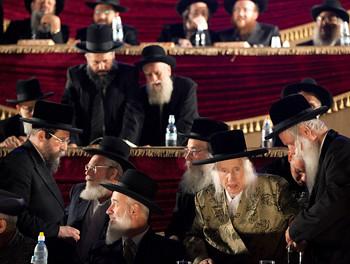 Juden in der Talmud-Schule