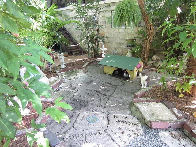 Hemingway cat cemetery