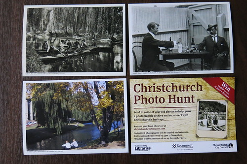 Christchurch Photo Hunt postcards