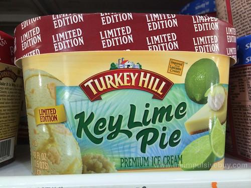 Limited Edition Turkey Hill Key Lime Pie Premium Ice Cream