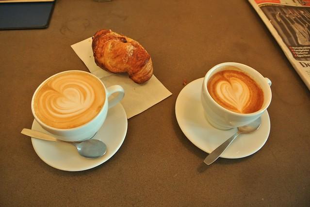 Cortado and Cappuccino