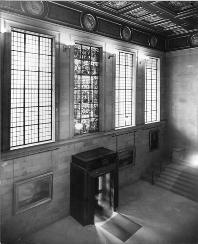 Shakespeare Hall, Manchester Central Library, 1934