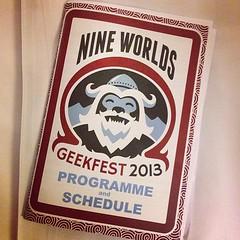 #nineworlds #geekery