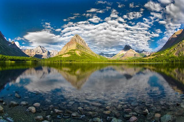 Grinnell Peak, Glacier National Park, Swiftcurrent Lake