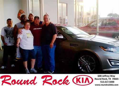 Happy Birthday to Andrew Garcia from Fidel Martinez and everyone at Round Rock Kia! by RoundRockKia
