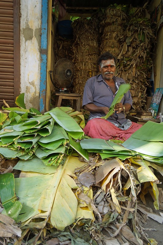 Banana Leaf Vendor