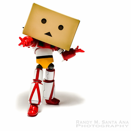 Danbo Getter Strikes A Pose.