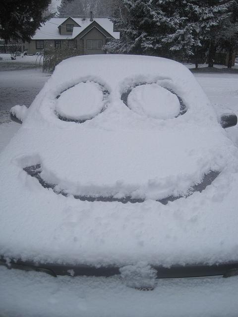 Santa's little-known friendly car and snow troll.