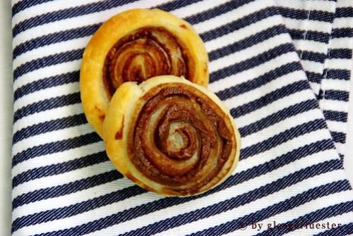 Erdnuss Nutella Rädchen von Glasgeflüster 4