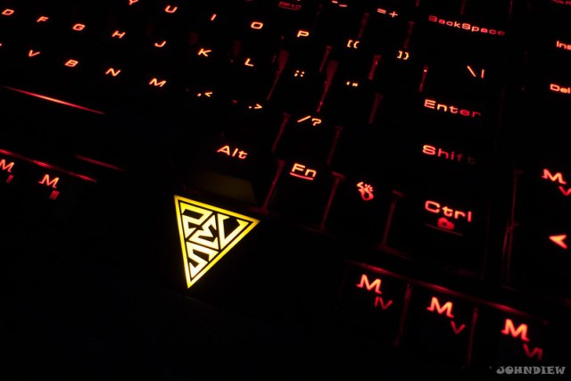 GAMDIAS HERMES Mechanical Gaming Keyboard 106