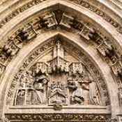 Seville Jan 2016 (12) 368 - Cathedral door arch detail
