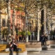 Seville Jan 2016 (12) 327 - Enjoying the sunshine