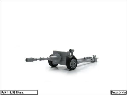 PaK 41 L/58 de 75mm. de Panzerbricks