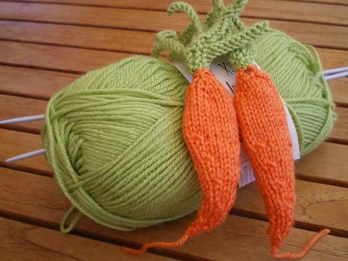 plumes racines Asphodèle carottes