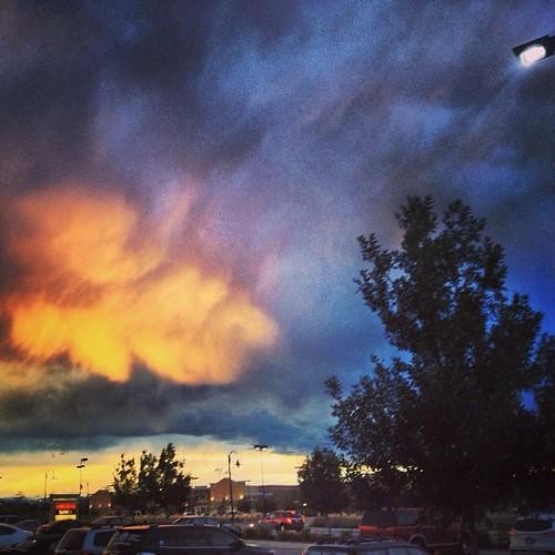 Awesome #sky #denver by @MySoDotCom