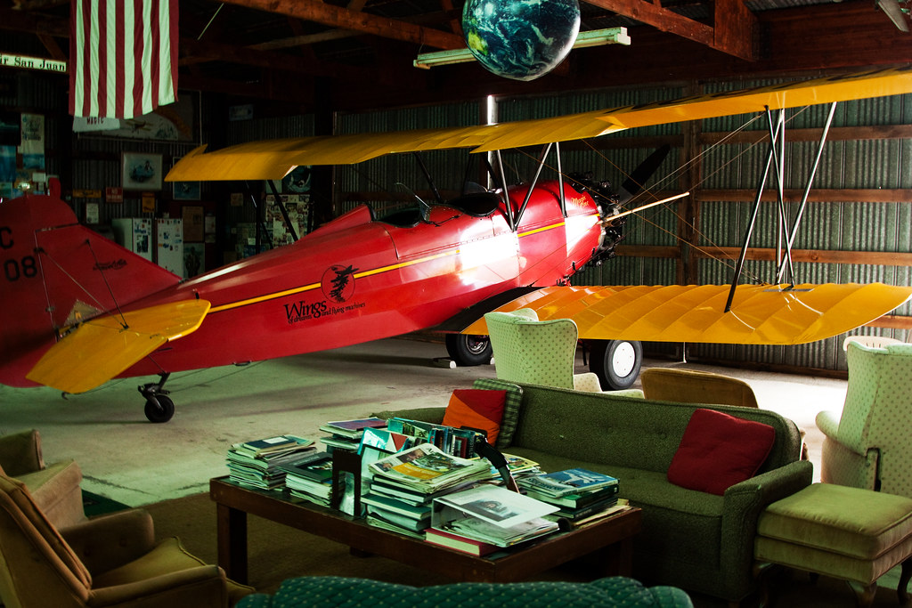 Biplane in your Living Room
