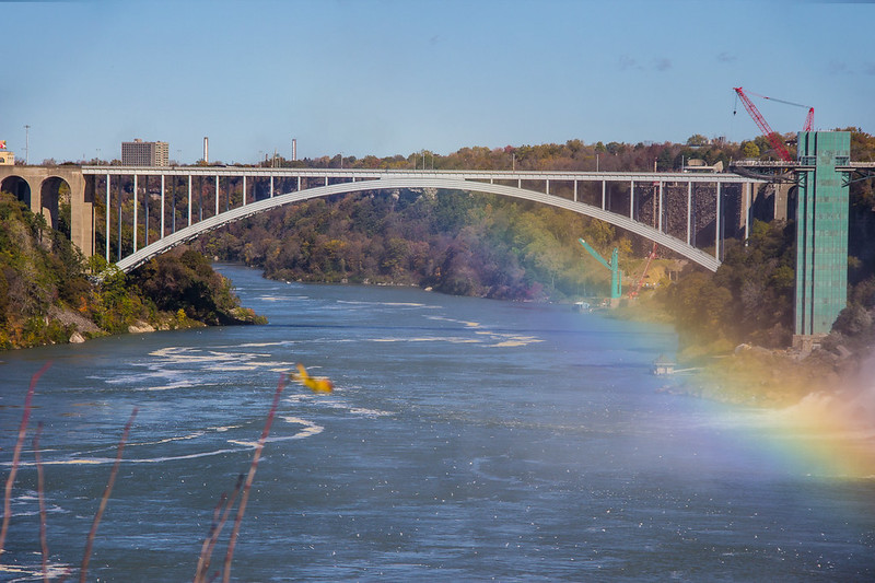 A Rainbow on Rainbow Bridge