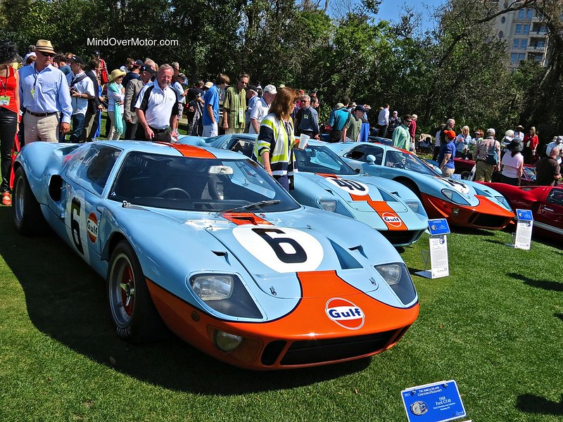 Ford GT40 at Amelia Island