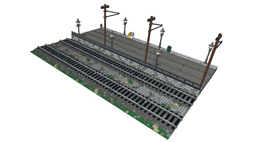 Straight Street Trolley Module Example 01 by Cale Leiphart