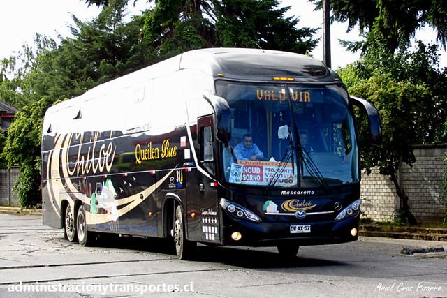 Queilen Bus (31) - Osorno - Mascarello Roma 370 / Mercedes Benz (DWXX57)