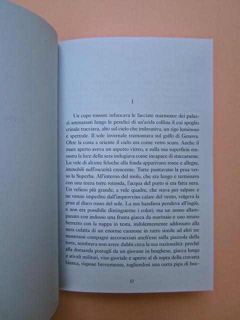 Joseph Conrad, Suspence. il canneto editore 2013. progetto grafico di Paroledavendere, Art Director: Camilla Salvago Raggi. Incipit (part.), 1