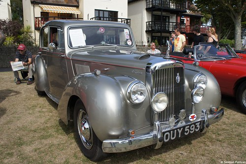 1955 Alvis TC21 Grey Lady