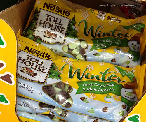 Limited Edition Nestle Toll House Winter Dark Chocolate & Mint Morsels