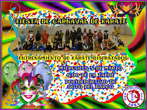 Fiesta de Carnaval de Karate
