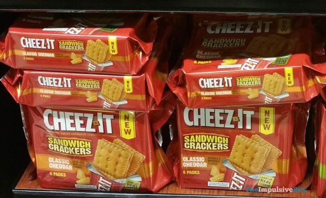 Cheez-It Classic Cheddar Sandwich Crackers