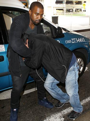 Kanye West Brawl